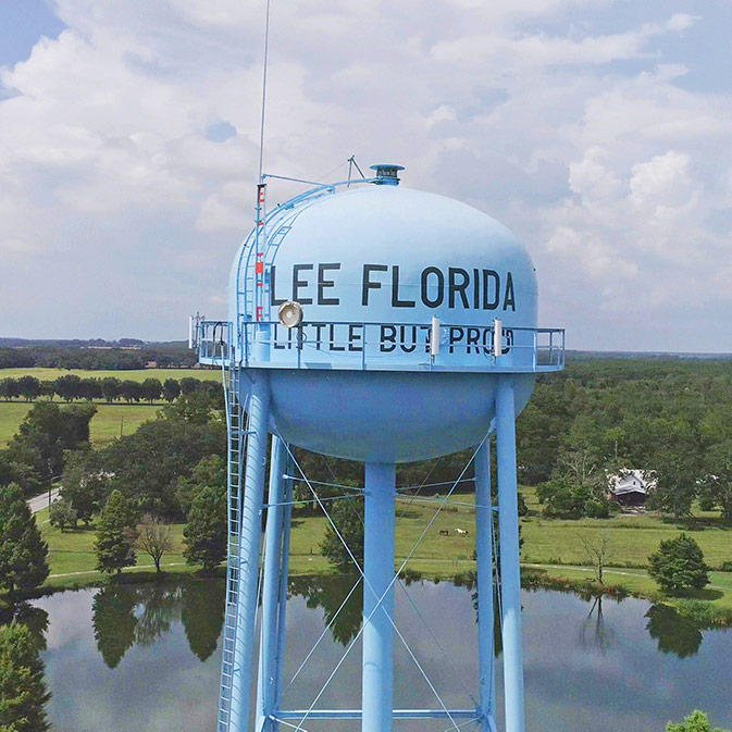 Lee, Florida Water Tower